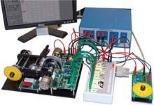 Basado en PC analógica y digital del motor didáctico en control