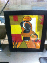 Painting on clay wholesale