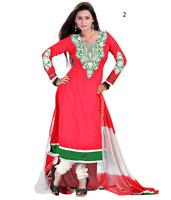 Punjabi Salwar Kameez Neck Design | Heavy Work Kameez Salwar