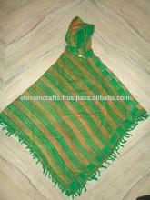 novos modelos de lã acrílica ponchos