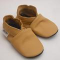 los zapatos de bebe unicos suaves amarillo ebooba