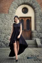 Black sexy ocasiona/club dress decorated with hand