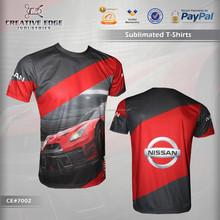 Nissan GTR Full Sublimation Printing T-Shirt / Unisex Sublimation Printing Tee Shirts / Classic Fit Mens Sublimated T Shirts