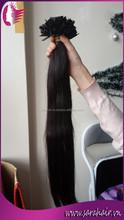 Cheap Unprocessed Vietnamese Virgin Human Hair Flat Tip Hair Extensions Pre Bonded Wavy Hair Wholesale