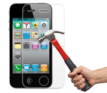 Hot Selling Anti-Glare Anti-Scratch Premium Clear Tempered Glass Screen Protector for Apple iPhone 4 4S