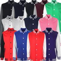 Cotton Fleece Varsity Jackets/ Light Weight Cotton Varsity Jackets/ Fleece Jackets