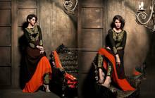 Exclusive Wedding Collection Black Anarkali Suit