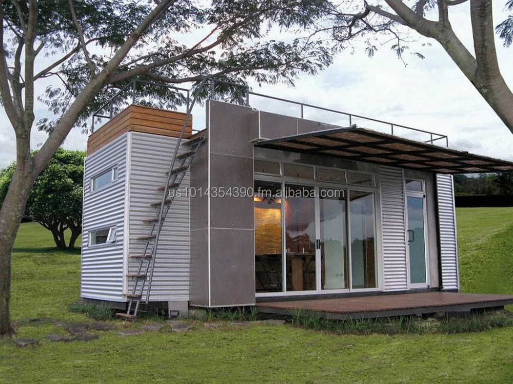 Modern Container House 100 Solar Save Energy And Money