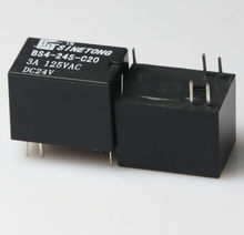 High sensitivity miniature 24V 3A conversion sealed signal relay