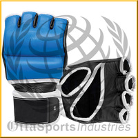 CUSTOM MADE MMA GLOVES TWO TONE 4 0Z FITNESS SPORTS EQUIPMENTS