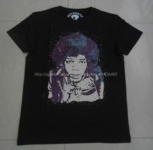 Personalizada camiseta con impresión de fotos, para hombre de manga corta camiseta de algodón con impresión de la foto