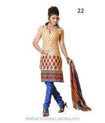 Ladies Unstitched Salwar Suits / Dress Material At Wholesale Price