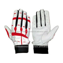 Soft Leather Baseball Batting Gloves