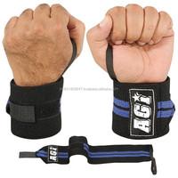 Power lifting wrist strap