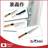 YEXELL and High quality curved blade knife with traditional knife making