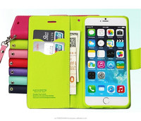 Fashion Fancy Wallet cases Leather flip card slot cover cases for iPhone5 5S 6 6 plue