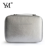 2012 fashionable hot sale designer red cosmetics sample bag