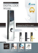 Japanese digital door lock with high security CL-LE lock case