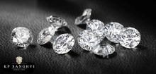 0.5 Cts E-VVS2 , Natural Diamonds
