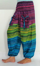 Commercio all'ingrosso 3 Die dritte pantaloni-Baggy pantaloni-Boho Hippie Staright pantalone con tasca laterale 2015