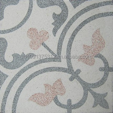 Cement tile terrazzo