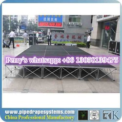 wholesale outdoor/indoor used aluminum portable outdoor concert stages with adjustable height on sale
