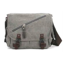 2015 new fashion canvas shoulder bag for man, canvas messenger bag for men,china canvas bags for men