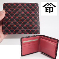 Authentic Japanese style traditional handicrafts wallet with long-lasting durability