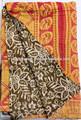 bordado patchwork edredones indio vintage sari estampados florales edredones colchas