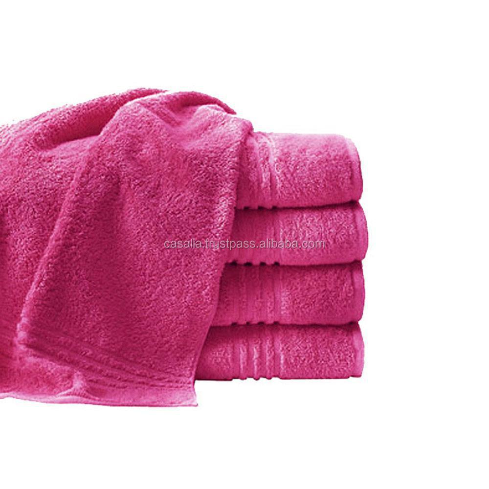 High Quality Wholesale Bath Towels 100% Cotton Plain White