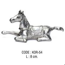 Metal Horse Figurine Miniature KOR-54