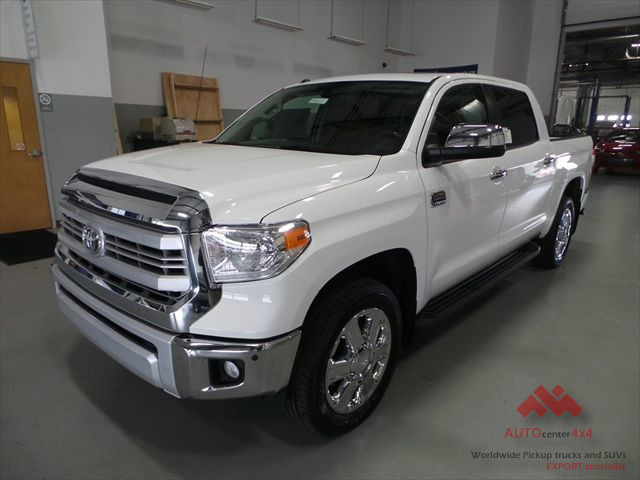2015 white on brownt toyota tundra 1794 edition 4x4 crew. Black Bedroom Furniture Sets. Home Design Ideas