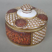 moda di lusso in legno antico finitura rilievo lavorare su marmo gioielli scatola