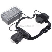 Hot Sale!!! Professional Headband Magnifier Glass Lighted Optivisor 5 Lens For Hobby Repair Reading Watch Tools Free Shipping