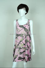 50% POLYESTER 50% RAYON KNITTED DRESS