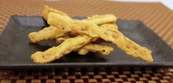 Flavored and Japanese style of scallops frozen hokkaido fried squid of wasabi taste at reasonable prices