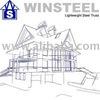 Mild Steel Structure Roof Truss, Metal Roofing & Insulation