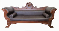 Victorian Style Antique wooden sofa