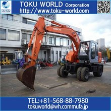 High-performance and Long-lasting used hitachi excavator for sale made in Japan for construction