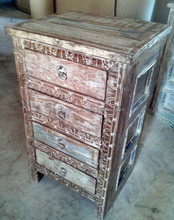 Reclaimed wood furniture 4 Drawers chest