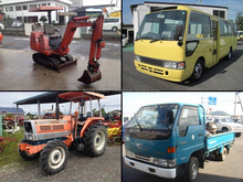 High quality used cars auction in Japan , heavy equipment also available