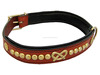 My pet fashion styles dog collars,leather small collar for pets