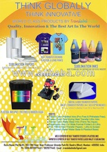 Light colour heat transfer papers