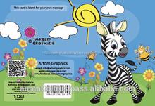 gráficos artom feliz pequeña tarjeta de cumpleaños