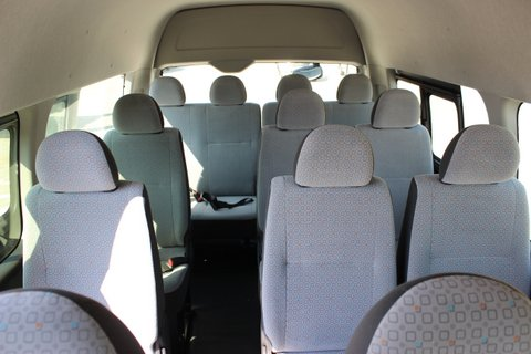 BRAND NEW 2014 TOYOTA HIACE VAN GL HIGHROOF 2.5L DIESEL 15 SEATER