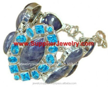 Real Blue Lace Jewels H7050