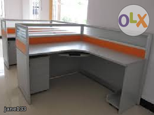 Office Tables & Cabinets ((office chairs) GANG CHAIRS, executive tables, freestanding tables