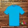 cheap wholesale custom fruit of the loom t shirts