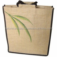 custom Size Jute Grocery Bag