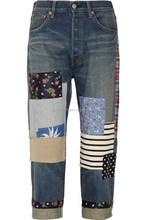 Metal Buttons boyfriend jeans